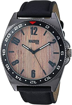 Madden Men Analog Bracelet with Metal and Bead Bracelet SMMS025