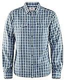 Fjällräven Herren Abisko Cool Shirt Ls Langärmeliges Trekking-Hemd, Uncle Blu