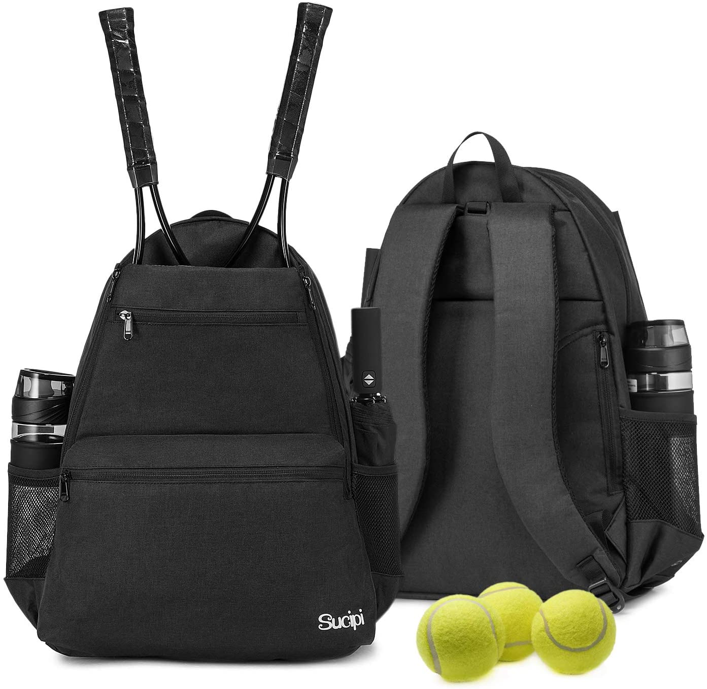 Sucipi Tennis Bag Professional Backpack Low price and Men Los Angeles Mall Women for