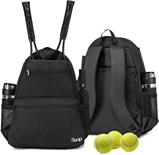 Sucipi Tennis Bag Professional Tennis Backpack for Men and Women Racket Bags Holds 2 Rackets with Ventilated Shoe Compartment