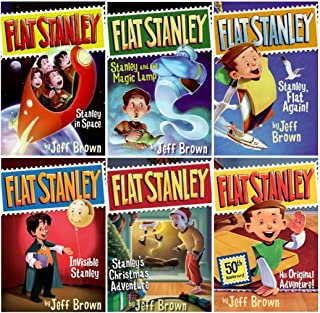 Flat Stanley, Books 1-6 by Jeff Brown (2010) Paperback