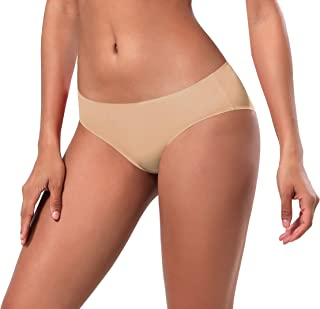 BUBBLELIME XS-XXL Sexy Bikini Panties Women's Low Rise String Breathable Soft Underwear Bonded No Show (6 Pack&3 Pack&1 Pack)