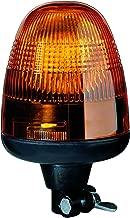 HELLA 006846011 KL Rotaflex Flex Mount Beacon Warning Light, Rotating Patterns, 24V, Amber