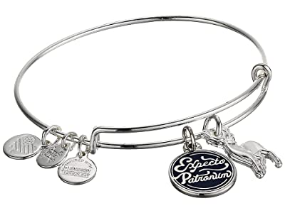 Alex and Ani Harry Potter Duo Bangle Bracelet (Silver/Expecto Patronum) Bracelet