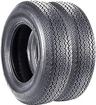 VANACC 225 75 15 Trailer Tires 8 Ply 225/75D15 Load Range D 113J Set of 2