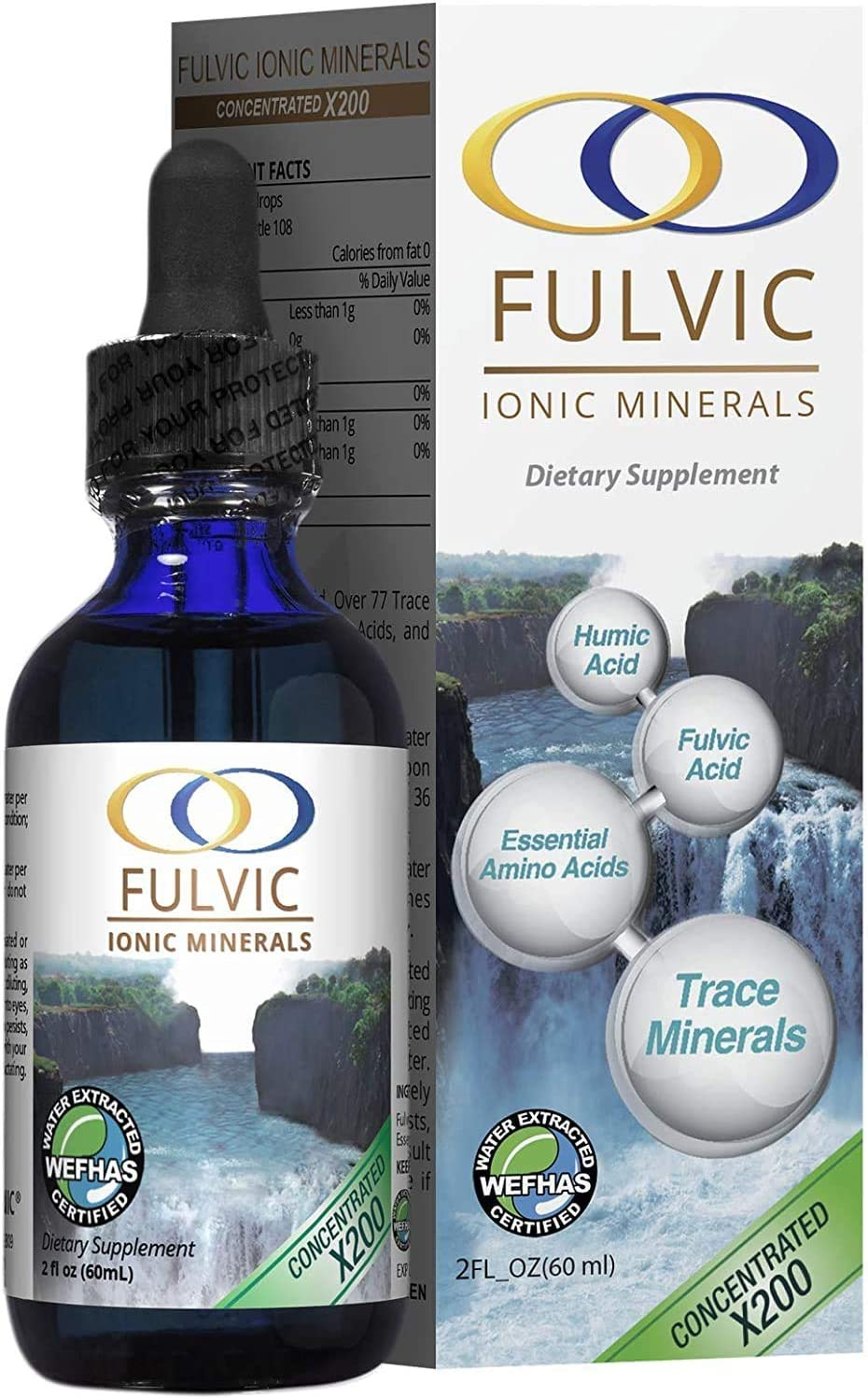 Water Extracted Fulvic Acid Max 90% OFF X200 Max 59% OFF Based Ionic Trace Minera -Plant