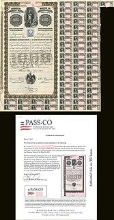 """""""Queen Victoria"""" - Banco de Londres Y Mexico - 1,000 Pesos - Bond"""