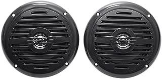 Pair Rockville MS525B 5.25 400 Watt Waterproof Marine Boat Speakers 2-Way Black