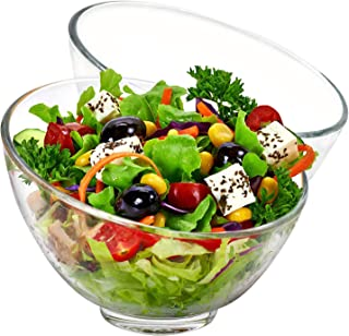Best glass salad serving bowl Reviews