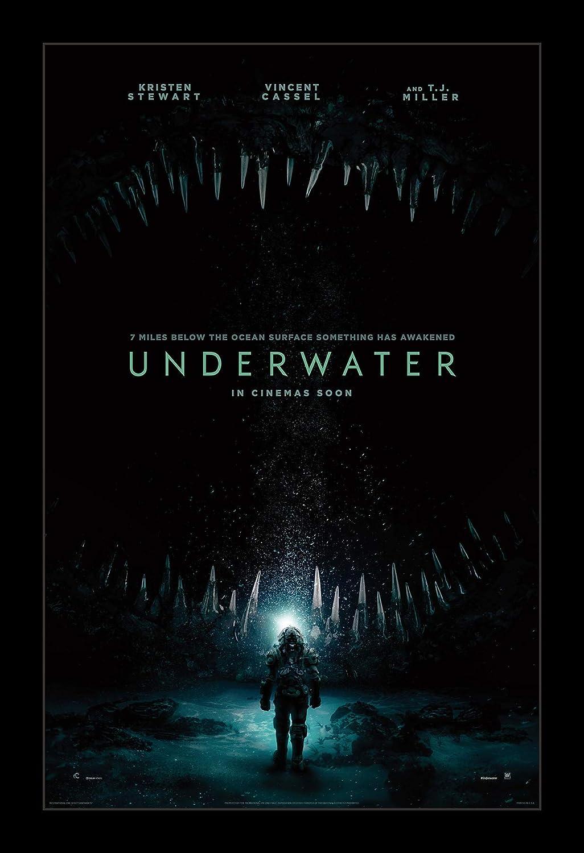 Wallspace 11x17 Framed Movie Detroit Mall Poster Underwater Very popular! -