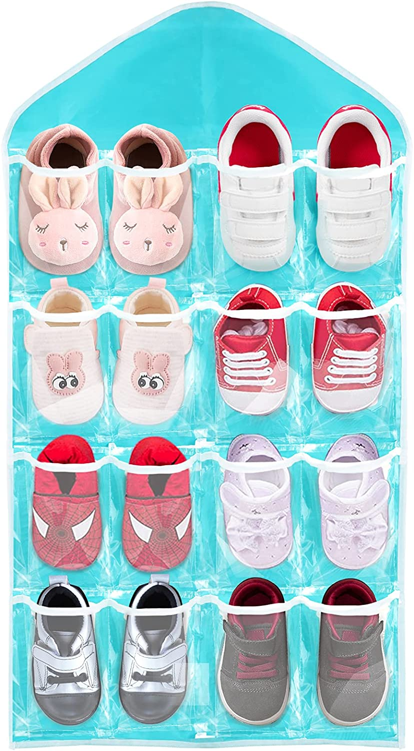 16 Selling Pockets Baby Shoe Organizers Clear Door Cl Hanging Over Wall Sales of SALE items from new works