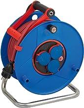 Brennenstuhl Garant Bretec IP44 kabelhaspel voor commerciële en bouwplaatsen, 40 m (van speciale kunststof, voor gebruik o...