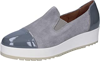 CARMENS Loafer Flats Womens Suede Grey
