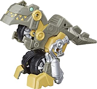 Transformers Playskool Heroes Rescue Bots Academy Grimlock Converting Toy Robot, 4.5