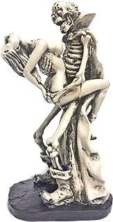 Bellaa 24085 Lover Skeleton Statues Dracula 10 inch