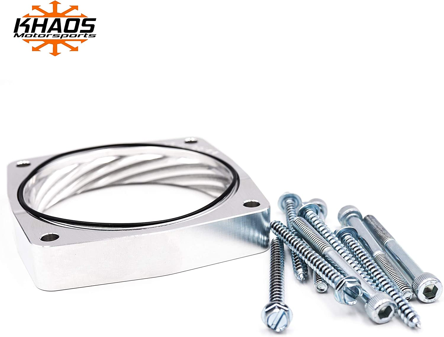 Long-awaited Khaos Motorsports 90mm Daily bargain sale Helix Throttle Spacer Compatible Body Wit