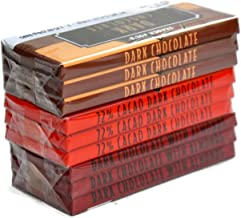 Trader Joe's Belgian Dark Chocolate Bars 3 Variety Pack - Total 9 Bars