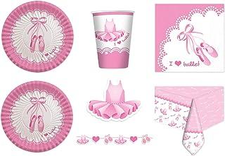 Creative Convertting 8C322224 Multicolore Piatto 23 cm Ballerina-Twinkle Toes