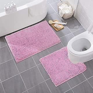 Best light pink bath mat set Reviews