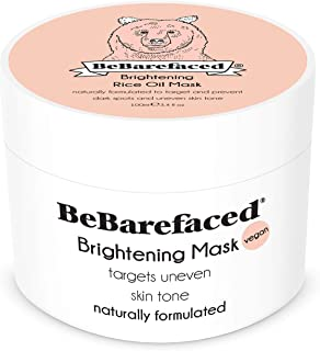 BeBarefaced Brightening Face Mask With Rice Bran Oil - Anti