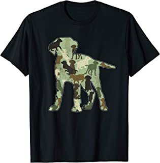 Labrador Camo Dog Camouflage T-Shirt