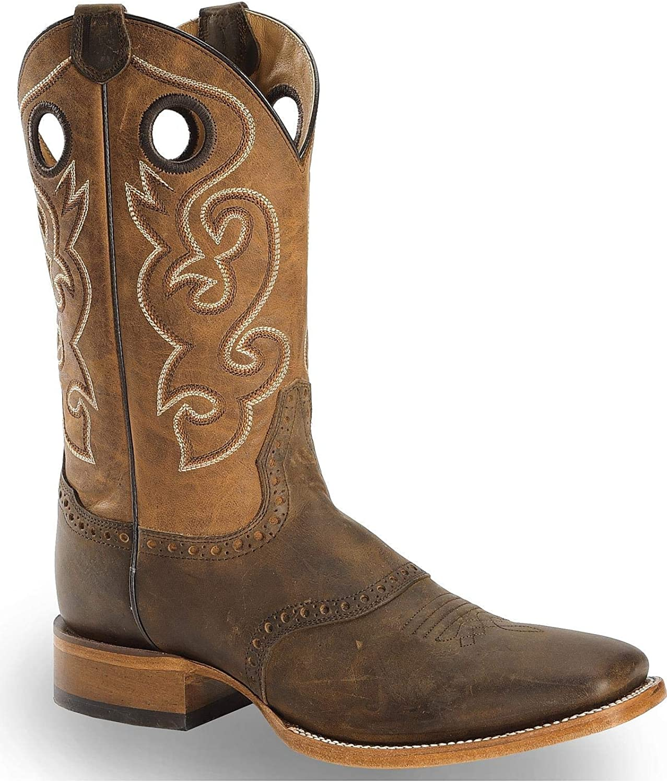Cody James Men's 100% quality warranty! Saddle Vamp Western Square Toe Boot Bb02 Super intense SALE -