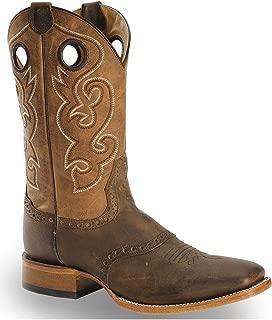 Cody James Men's Saddle Vamp Western Boot Square Toe - Bb02