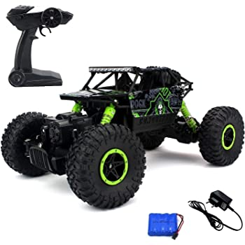 Ajudiya's Rock Crawler Off Road Race Monster Truck 4WD 2.4GHz (Random Colour)
