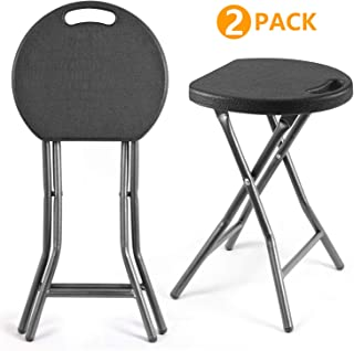 padded folding stool