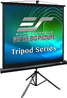 Elite Tripod 1:1 Portable Projector Screen, 99 inch