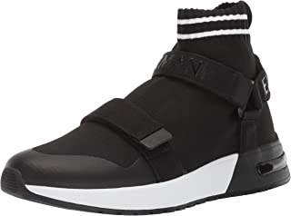 A|X Armani Exchange Men's Double Strap High Top Sneaker