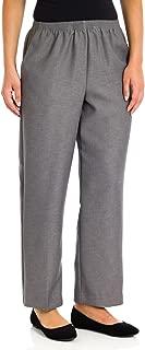 Women's Petite Polyester Pull-On Pants - Short Length
