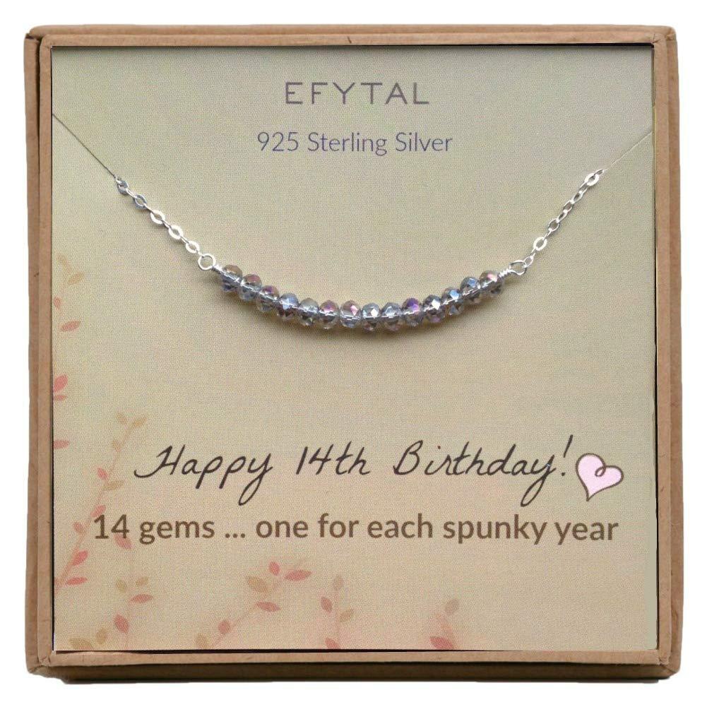 EFYTAL 14th Birthday Sterling 14