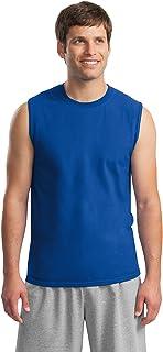 e7a92b5cbbf20 Gildan Men s Ultra Cotton Double Needle Sleeveless T-Shirt