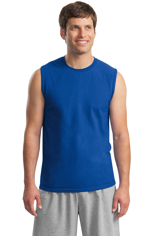 Gildan?–?ウルトラコットンノースリーブTシャツ?–?2700