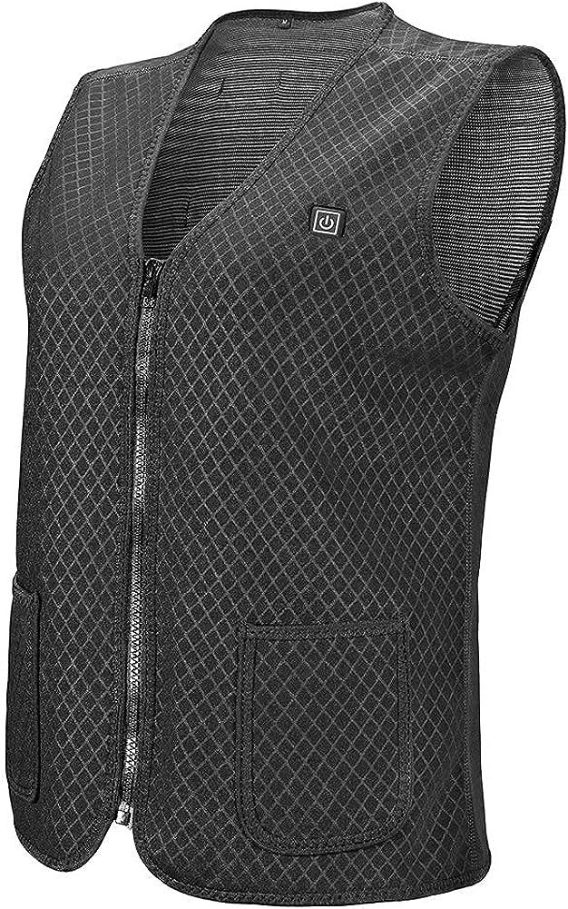 VALLEYWIND Electric Heated Max 90% Ranking TOP8 OFF Vest for Heat USB Women Charging Men
