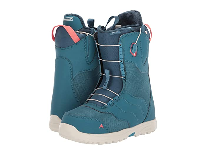 Burton  Mint Snowboard Boot (Storm Blue) Womens Cold Weather Boots