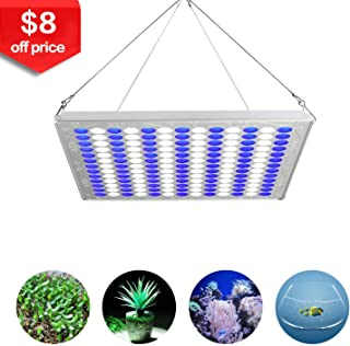 TOPLANET Led Grow Light 75w Plant Growing Lamps Aquarium LED Blue/White Light for Indoor Greenhouse Grow Tent Hydroponic Veg Plant Germination Growth/Fish Tank Lighting Decoration