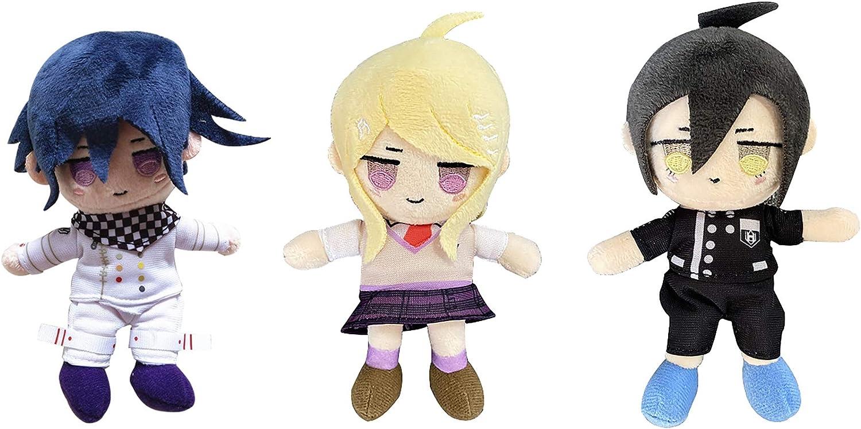 Danganronpa V3 Cosplay Spring new work Plush Toys Kokichi Oma Aka Keychain List price Kaede