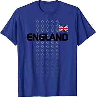 England Soccer Shirt - English National Team Fan Top