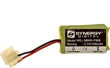 Plantronics CS70 Wireless Headset Battery Li-Pol, 3.7 Volt, 120 mAh, Ultra Hi-Capacity Battery - Replacement Battery for PLANTRONICS CS70/N, 66278-01 Wireless Headset Batteries