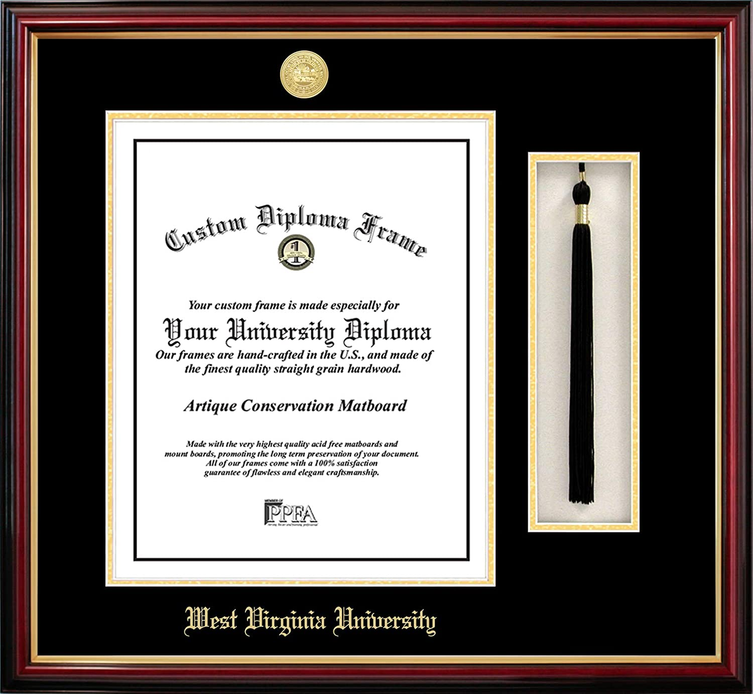 Campus Images NCAA unisex Tassel Super-cheap Sale SALE% OFF Frame Diploma Box and