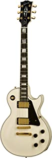 Gibson Les Paul Custom color blanco + Funda guitarra eléctrica Custom Shop