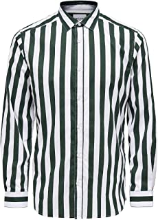 Only & Sons Onssane LS Striped Poplin Shirt Camisa para Hombre