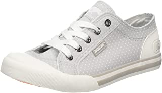 Rocket Dog Womens Jazzin Spot Pumps in Grey.
