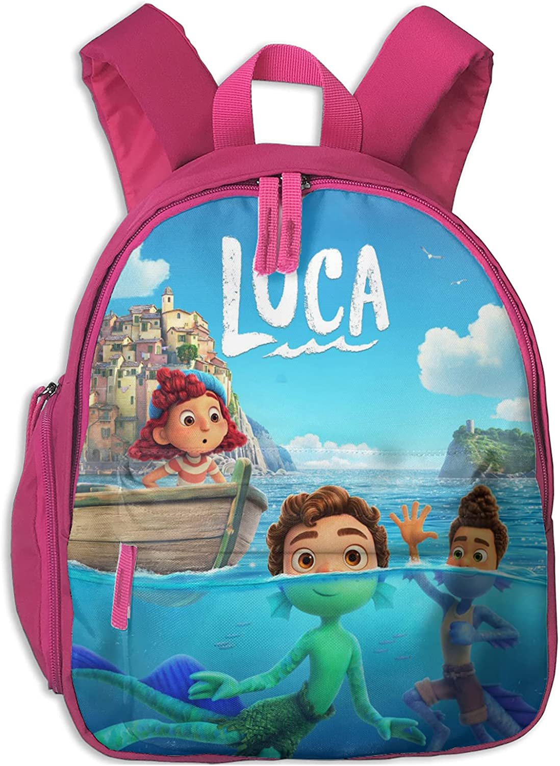 Pixar's Luca Backpack 3D Fashion Outlet sale feature Lightweight Bac Super sale period limited Casual