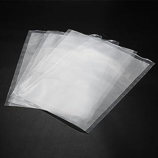 Vacuum Seal Bags 100PCS 20 x 30CM Embossed Pre-Cut Food Saver Bags for Vacuum Sealers