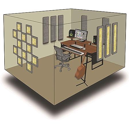 Primacoustic LONDON 10 (グレー) 吸音パネルセット [約6.5畳]対応 プライマコースティック
