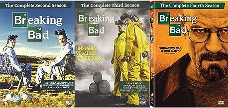 Breaking Bad Complete Seasons 2 / 3 / 4 (9 Disc DVD Set - All 39 Episodes - 30.5 Hours) - Bryan Cranston (Emmy Award Winne...