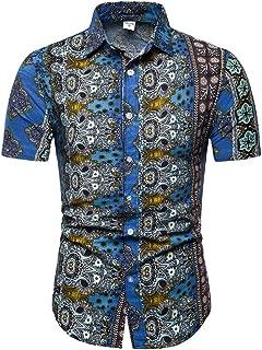 Qiyun Autumn Shirt Men Summer Fashion Short Sleeve Breathable Casual Slim Shirt Tops